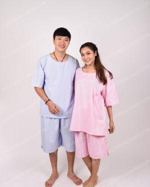 Đồng phục spa cho khách tay ngắn cho khách nam và nữ SPA002