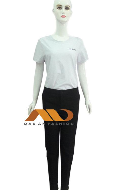 Đồng phục spa màu trắng