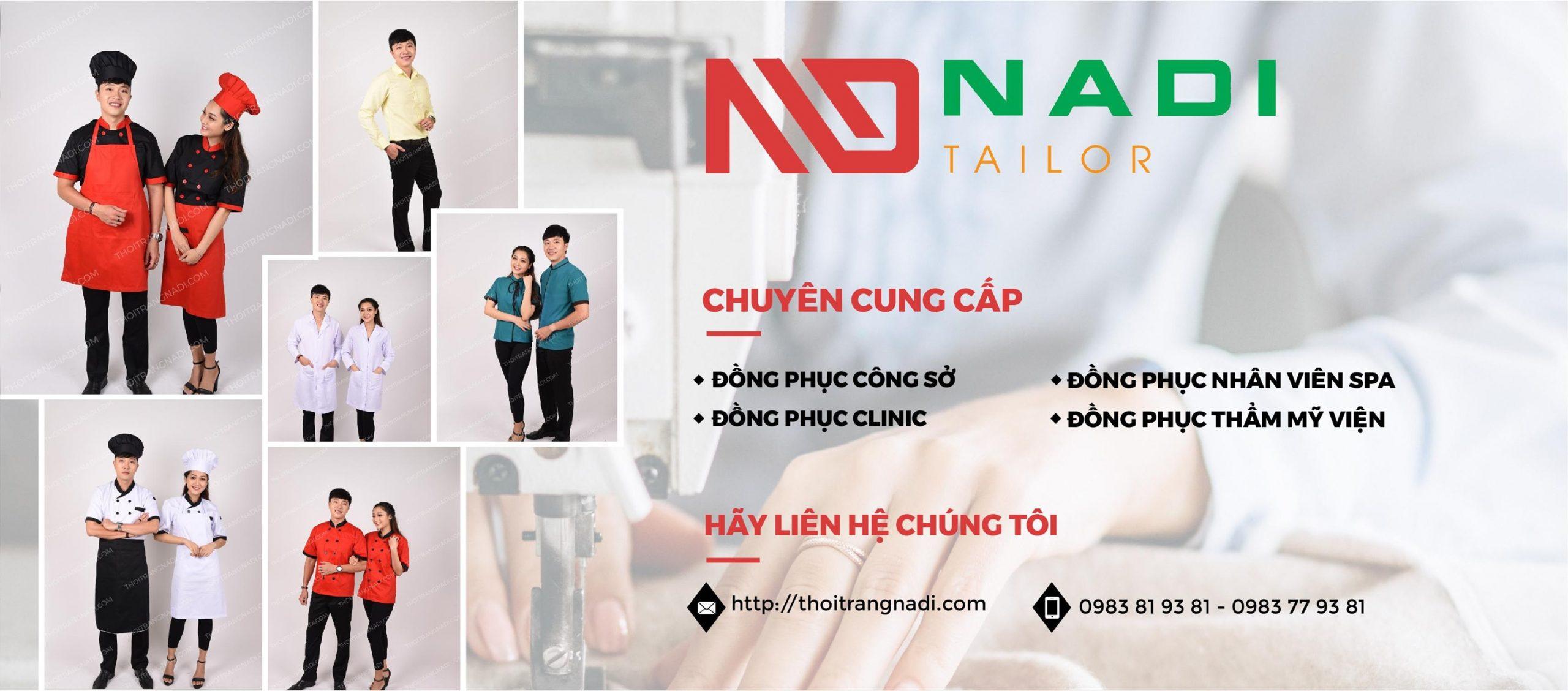Với 99% khách hàng phản hồi tốt về chất lượng sản phẩm của Nadi. Chúng tôi là đơn vị cung cấp đồng phục có giá thành hợp lí và đáp ứng nhanh nhất hiện nay