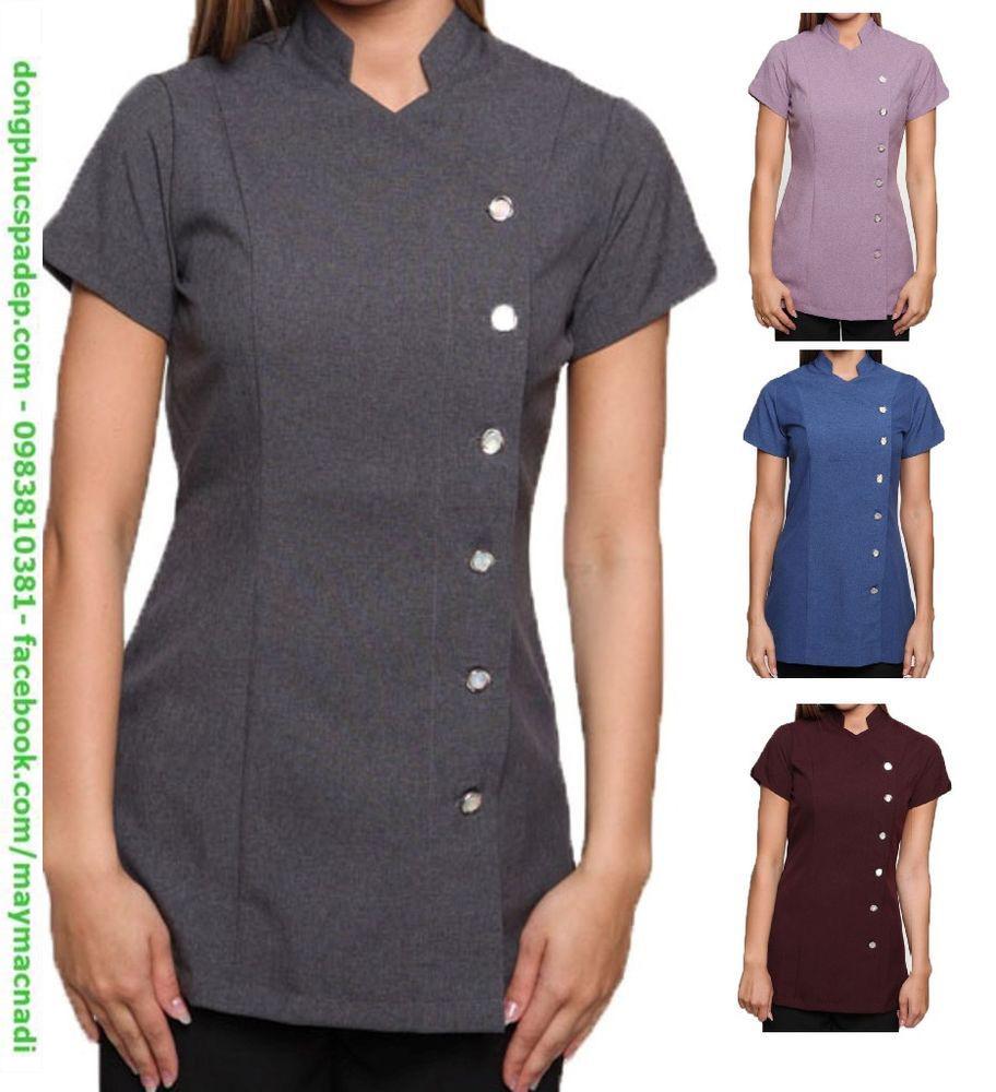 Những mãu đồng phục đơn giản nhưng mang lại sự thoải mải cho nhân viên.